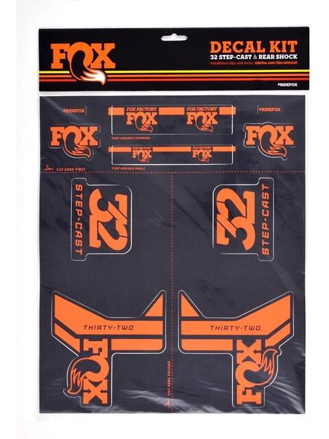Fox Racing Shox Decal 2017 AM orange